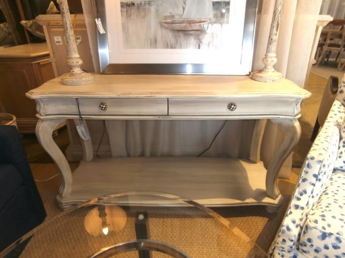 Awesome American Signature Sofa Table At The Missing Piece Inzonedesignstudio Interior Chair Design Inzonedesignstudiocom