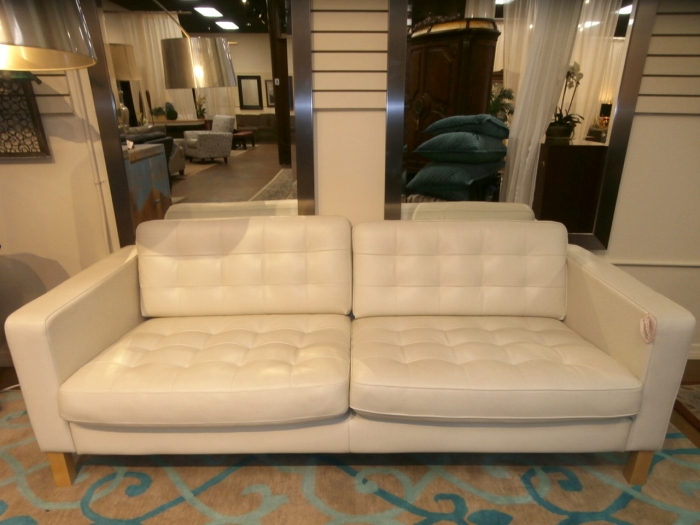 Astonishing Ikea Tufted Leather Sofa At The Missing Piece Gmtry Best Dining Table And Chair Ideas Images Gmtryco