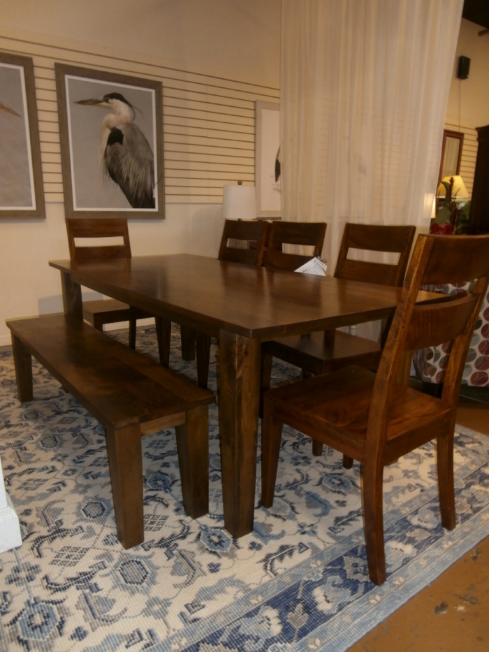 Crate Barrel Dining Table Chairs Bench At The Missing Piece