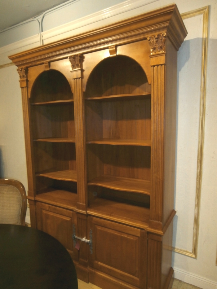 Ethan Allen Bookcase At The Missing Piece