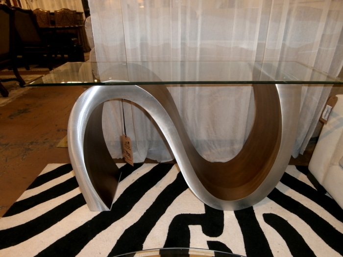 Meandering Console Table At The Missing Piece