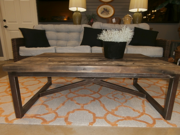 Restoration Hardware Coffee Table At The Missing Piece