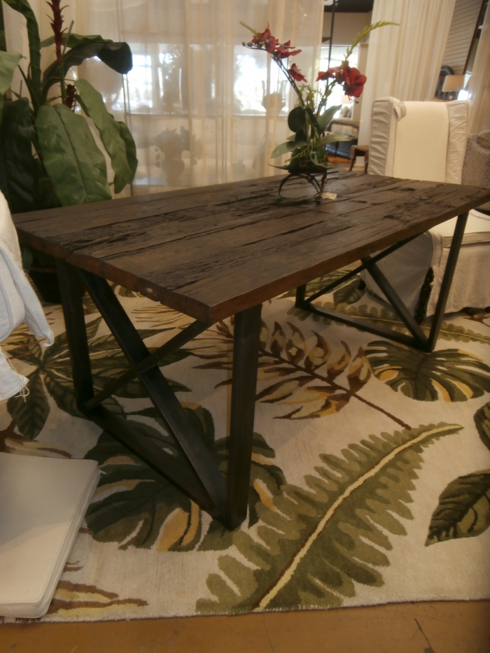 Rustic Dining Table At The Missing Piece