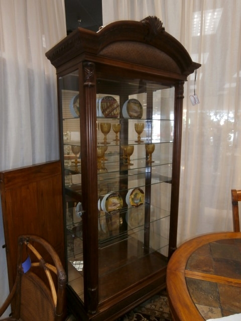 Howard Miller Curio Cabinet At The Missing Piece