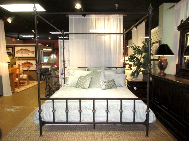 Kreiss Metal Canopy Bed At The Missing Piece