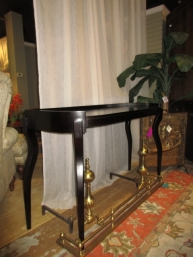 Transitional Side Table At The Missing Piece