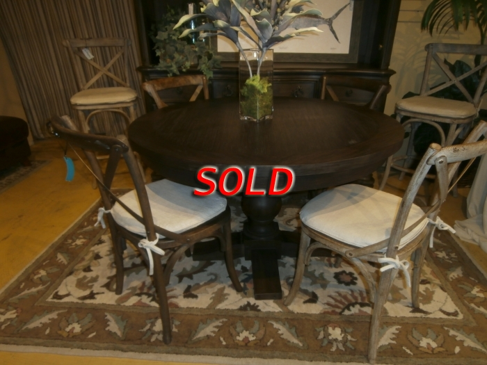 Restoration Hardware Table Chairs At The Missing Piece