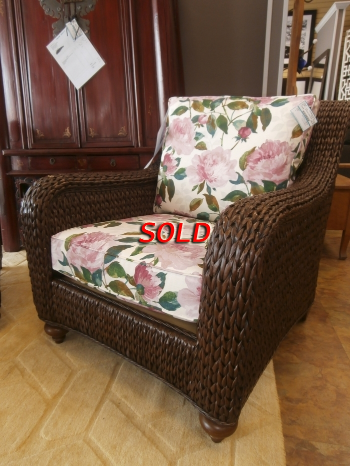 Ethan Allen Atlantic Woven Chair At The