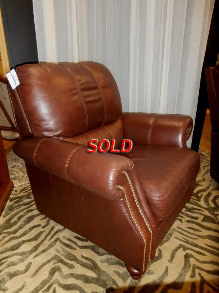 Groovy Ethan Allen Leather Recliner At The Missing Piece Short Links Chair Design For Home Short Linksinfo
