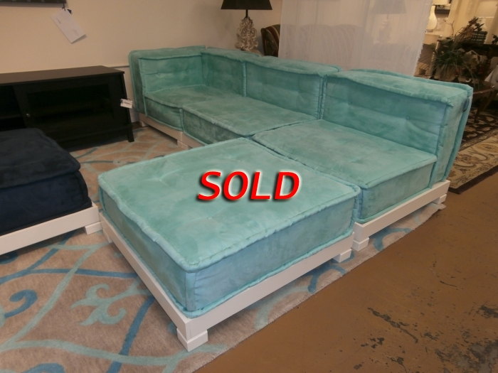 Pottery Barn Teen Sectional At The Missing Piece