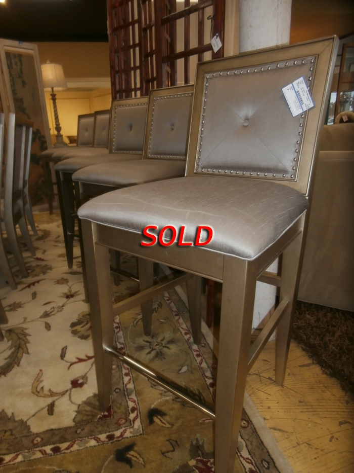 Glass Wood Dining Table, Zgallerie Bar Stool S 6 At The Missing Piece