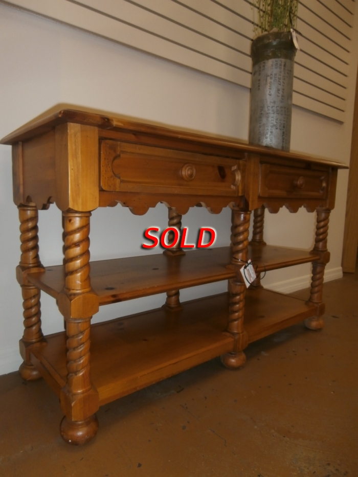 Broyhill Sofa Table At The Missing Piece
