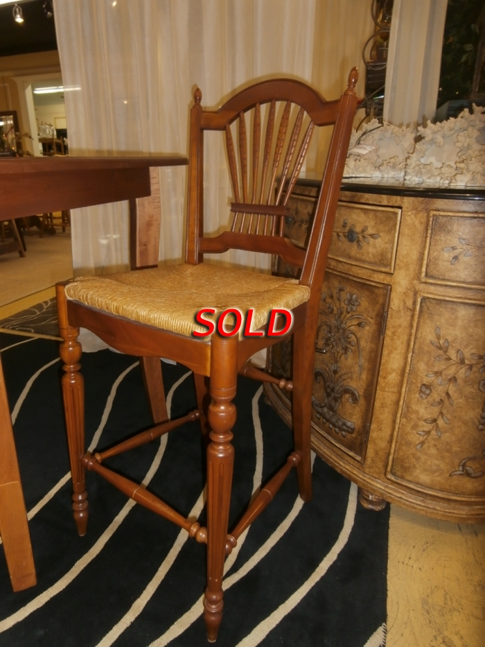 Ethan Allen Bar Stool S 2 At The Missing Piece