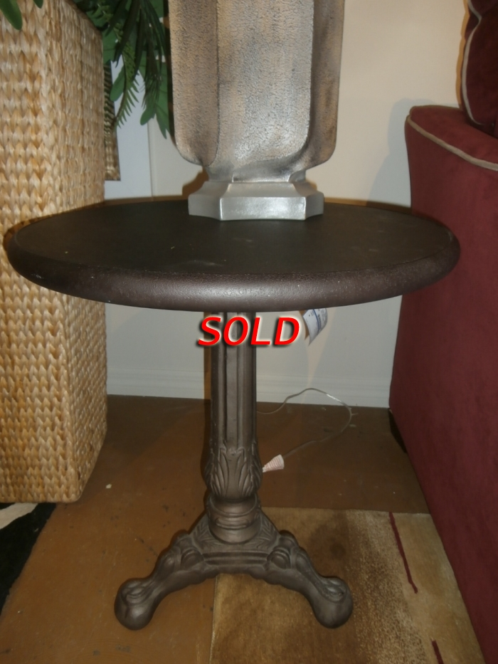Restoration Hardware Side Table At The Missing Piece