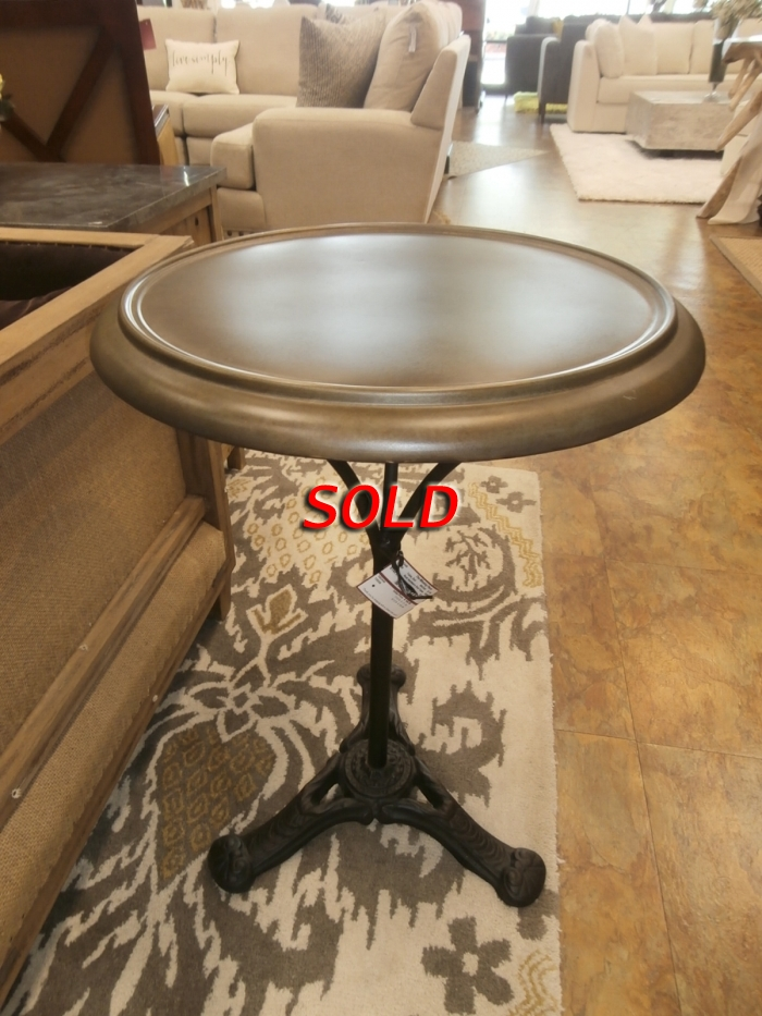 Restoration Hardware End Table At The Missing Piece