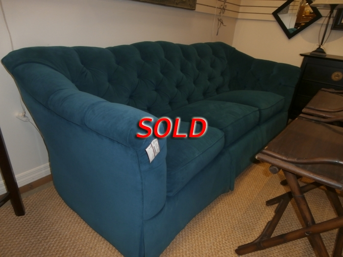 Thomasville Tufted Sofa At The Missing