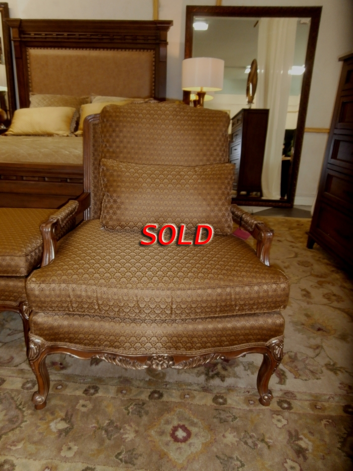 Thomasville Chair Ottoman At The