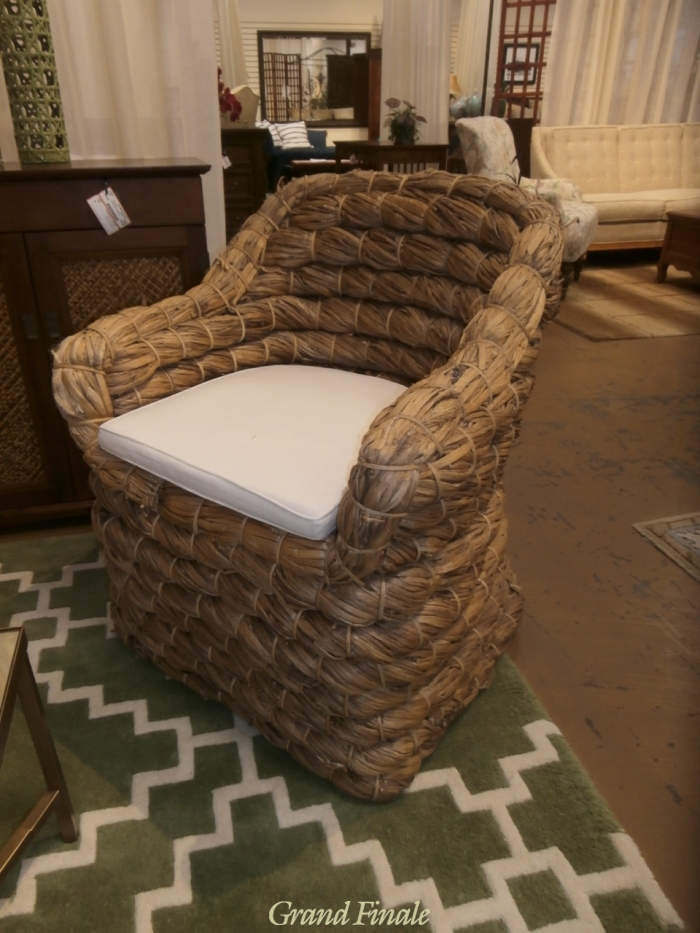 Woven Chair At The Missing Piece